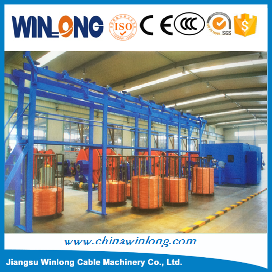 YL-1250 Automatic Copper Twist Bunching Strand Machine for Copper Wire
