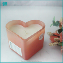 FJ-GB152T personalized heart shaped glass scented candle