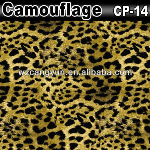 1.52x30m Car Wrapping Paper Camouflage Vinyl Roll Wholesale
