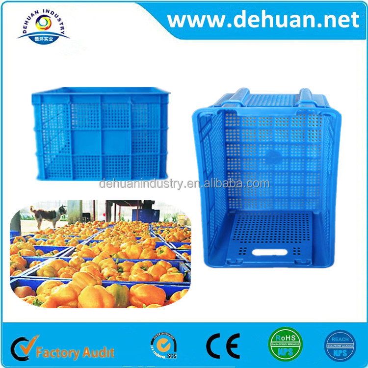 Colorful Hard Plastic Cases Plastic Carrying Case Fruit Storage Case
