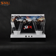 High Quality Fashion Modern Design Headphone Acrylic Display Stand Holder