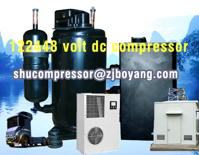 <strong>12</strong>/24 volt dc <strong>compressor</strong> for portable air conditioner camping 9000btu-12000btu