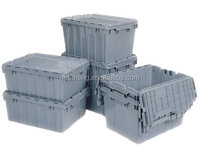 High quality plastic attached-lid storage containers