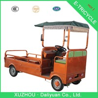 imported original tricycle two front wheels electric quadricycle cargo