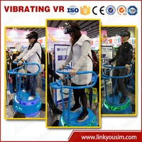 Incredible realism virtual arcade children game equipment/3d interative movies egg machines for children game