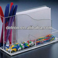 Acrylic Pen Holder Notes Box A338