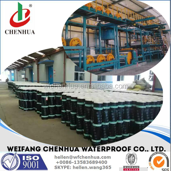 Small scale manufacturing machines including bitumen waterproofing material machine