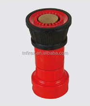 plastic fire hose reel nozzle, spray nozzle, fire fighting water nozzle