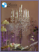 2017 New decoration table top chandelier centerpieces for weddings