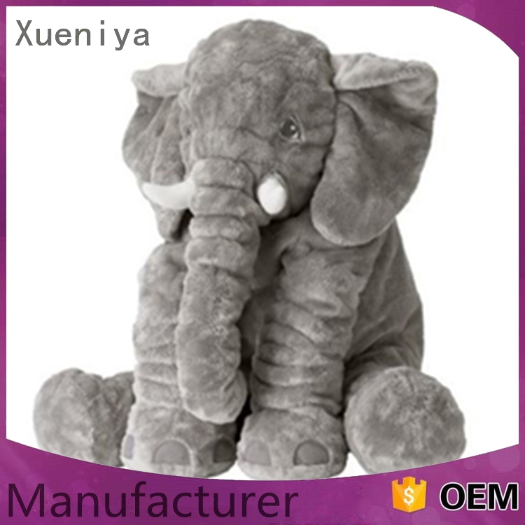 china supplier oem good quality personal wholesale plush exotic elephant toy