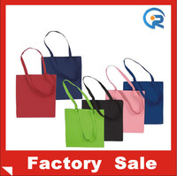 Supplier Customized cheap wholesale Colored economy cotton totes