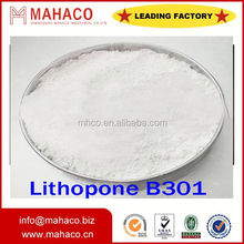 white powder Paint pigment msds of lithopone b311 factory direct