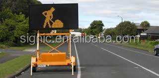 Australian Standard Advertisement Trailer Mounted Vms for Traffic Management