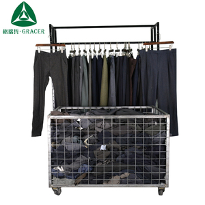 wholesale bales recycling men suit pants used winter clothes for sale