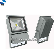 Ultra thin blue led flood light 100w flood light clearing luminary