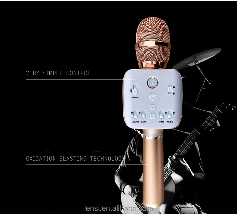 magic sing along portable karaoke microphone bluetooth wireless for DVD player