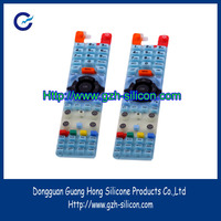 Customized remote controller silicone rubber keypads