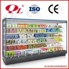 Supermarket display freezer electric beer cooler