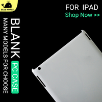 Clear Back Cover For IPad 4, For IPad4 Case, For Hard Plastic Case IPad 4