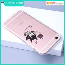 city&case decorative soft mobile phone case cover for iPhone 6plus