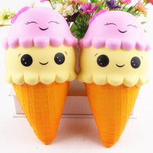 Jumbo Size kawaii cute Super Soft Scented Slow Rising Squeeze Toys Ice cream toy