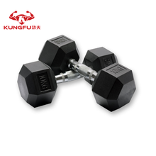 30kg cast iron hex dumbbells
