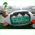 Commercial Advertising Display Helium Floating Blimp Shape Balloon / PVC Helium Customized Logo Inflatable Airplane