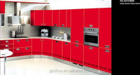 affordable red lacquer types of kitchen cabinets modern design kitchen cabinets