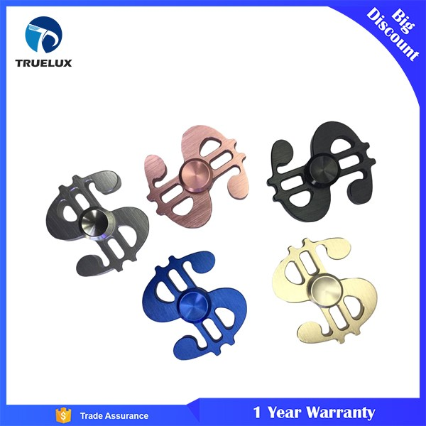 Hot Promotion Item Small US Dollar Hand Spinner Aluminum Alloy Spining Toy