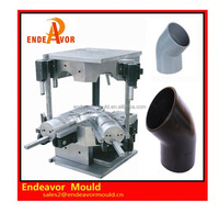 Factory directly sales quality assurance design and processing plastic injection 45 degree elbow mould