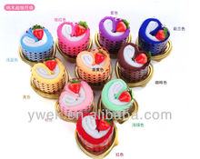 Heart Shape Cupcake Towel Favor Towel Cakes of wedding favors for wedding gift