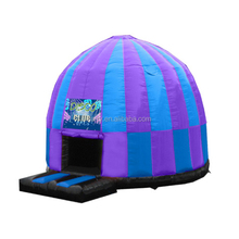 Commercial 0.55mm PVC inflatable disco dome bouncy castle