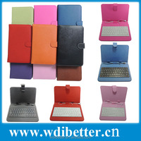 7 inch Universal Tablet Keyboard Cover Case For Kurio 7s Tablet Keyboard