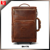 Xinghaoleather Brown Genuine Leather Bag Travel