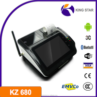 Android 4.0 3g wifi china pos terminal