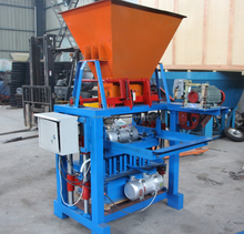 Semi-automatic Mobile Soil Cement Interlocking Brick Block Making Machine Price For Sale in Kenya