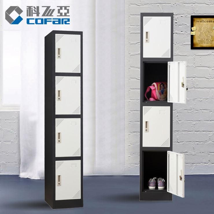 Colorful Steel Metal Wardrobe Clothes Locker Cabinet