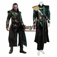 Custom Made Movie Marvel's The Avengers Thor Loki Adult Halloween Cosplay Costume