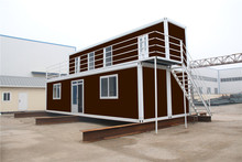 and Convenient Container Floating prefab living villa homes house