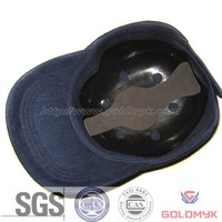 Industrial safety bump baseball cap