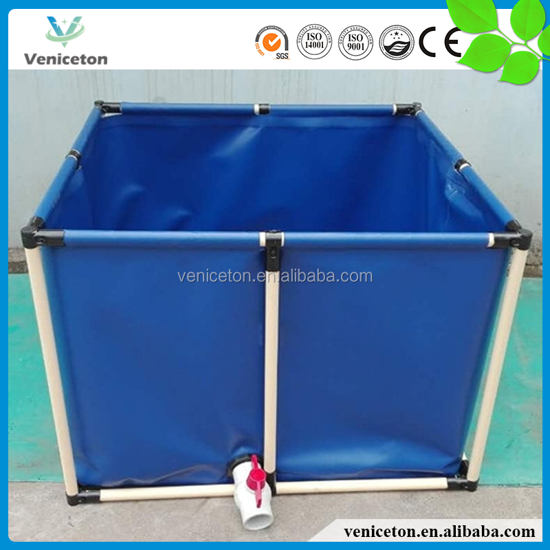 Veniceton High quality PVC foldable round koi fish tank