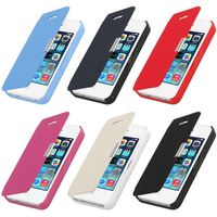 Magnetic Flip Leather Hard Skin Pouch Wallet Case Cover For Apple iPhone 4s 4G 5S 5G 5C phone cases 01R4