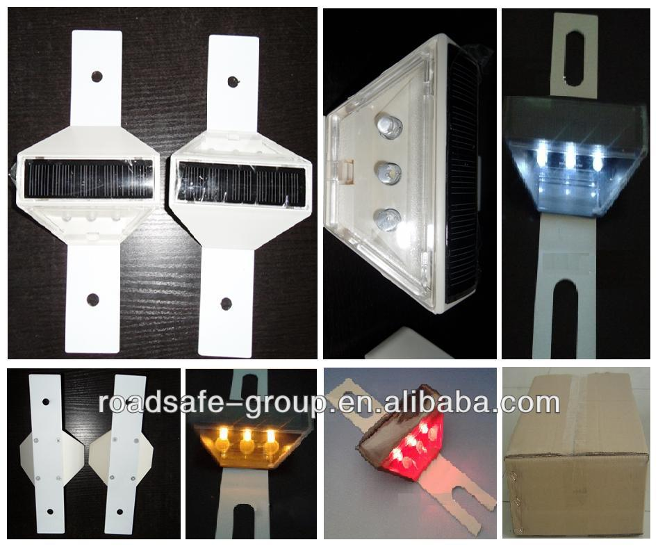 Highway Road Safety LED Guardrail Reflector/Solar Guardrail Light