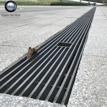 Free sample MOQ=10pcs larger support distance stainless steel floor grating cover, water drainage channel