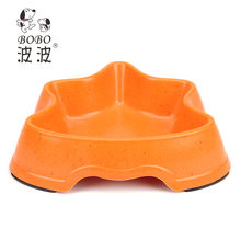 Factory Directly Provide Bamboo Novelty Dog Bowl