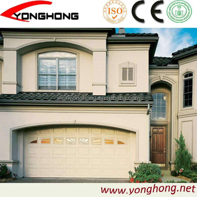 WUXIYONGHONG easy open garage door with 9*8 door