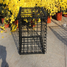 Gabions retaining wall wire cage for stones basket
