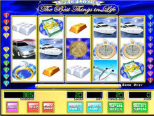 Life of Luxury casino game board 20 lines(56%~94%)