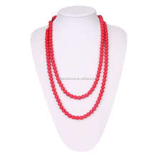 Silicone Baby Teething Jewellery Bead Necklace for Mum Wholesale