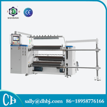 LFQ-A PLC Control high speed label slitting machine for plastic films and paper rolls
